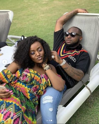 """If You Leave Me Water Go Carry You"""" – Chioma Warns Davido, As She Wishes Him Happy Birthday"""