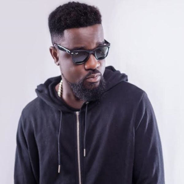 Ghanaian Rapper, Sarkodie, Now Sells Sachet 'pure' Water (Photo)