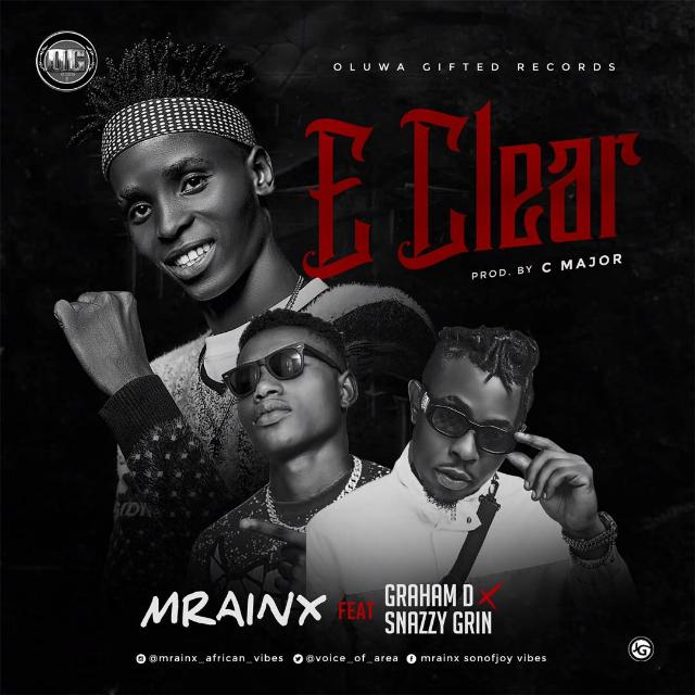 Mrainx ft Graham D & SnazzyGrin – E Clear