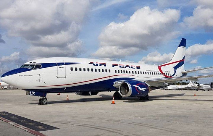 BREAKING: US Government Seizes Air Peace Jets